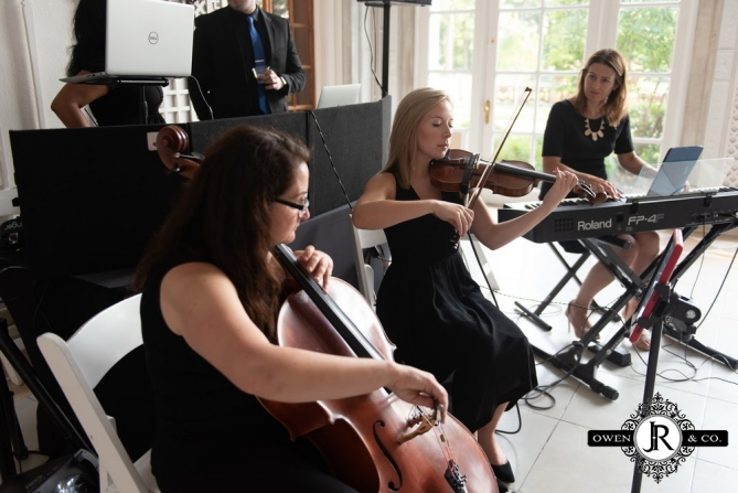 piano trio at The Armour House